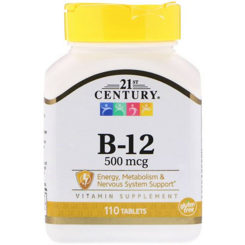 21st Century, B-12, 500 mcg, 110 Tablets Review