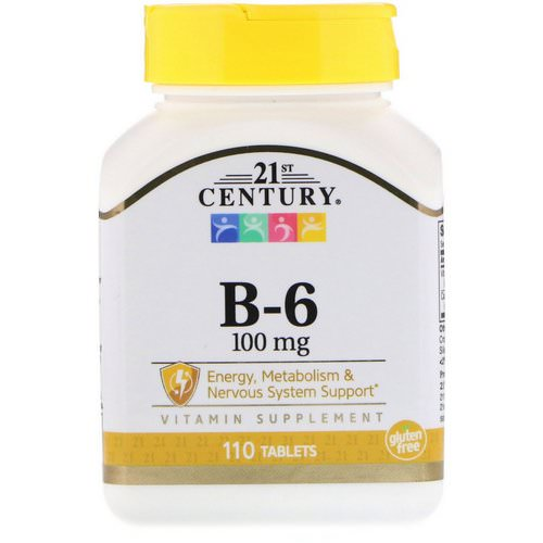 21st Century, B-6, 100 mg, 110 Tablets Review