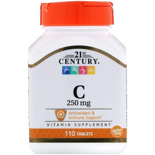 21st Century, Vitamin C, 250 mg, 110 Tablets Review