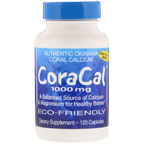 21st Century, CoraCal, 1000 mg, 120 Capsules Review