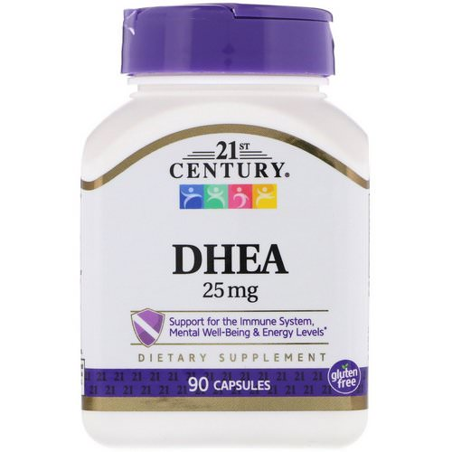 21st Century, DHEA, 25 mg, 90 Capsules Review