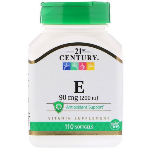 21st Century, E, 90 mg (200 IU), 110 Softgels Review
