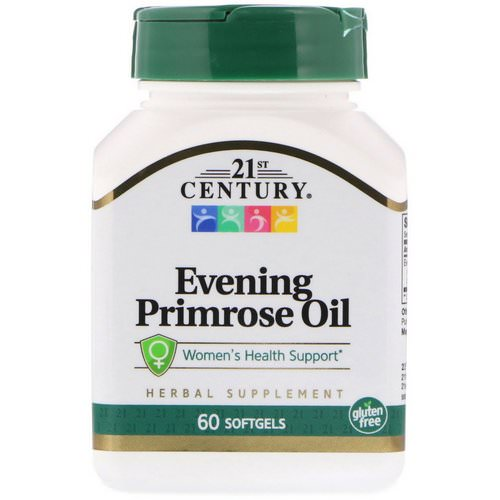 21st Century, Evening Primrose Oil, Women's Health Support, 60 Softgels Review