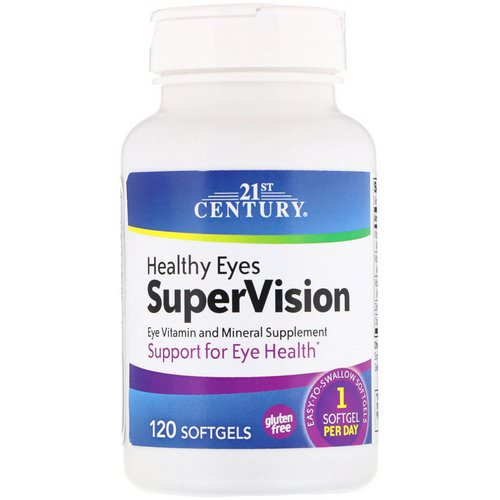 21st Century, Healthy Eyes SuperVision, 120 Softgels Review