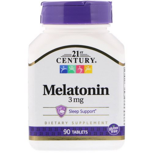21st Century, Melatonin, 3 mg, 90 Tablets Review