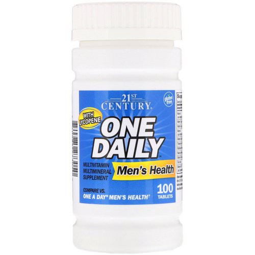 21st Century, One Daily, Men's Health, 100 Tablets Review