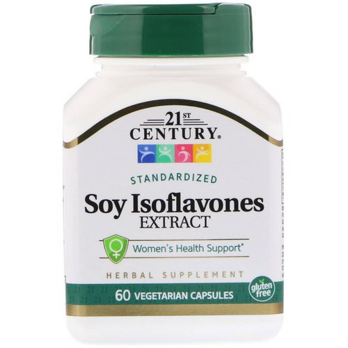 21st Century, Soy Isoflavones Extract, Standardized, 60 Vegetarian Capsules Review