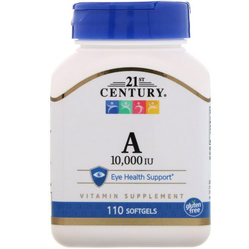 21st Century, Vitamin A, 10,000 IU, 110 Softgels Review