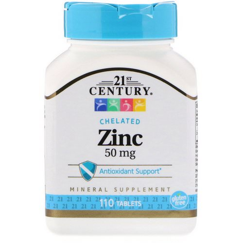 21st Century, Zinc, 50 mg, 110 Tablets Review