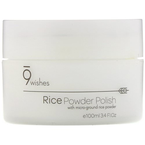 9Wishes, Rice Powder Polish, 3.4 fl oz (100 ml) Review