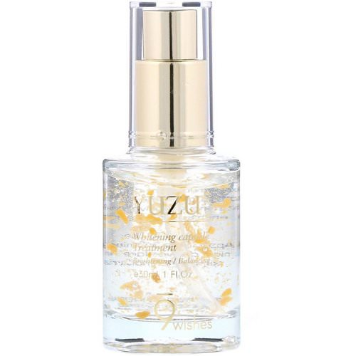 9Wishes, Yuzu, Whitening Capsule Treatment, 1 fl oz (30 ml) Review