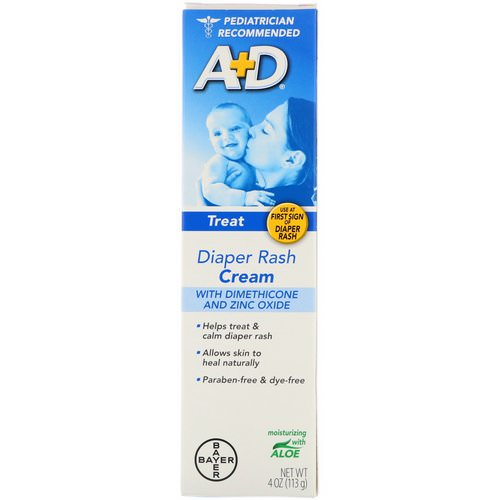 A+D, Diaper Rash Cream with Dimethicone and Zinc Oxide, 4 oz (113 g) Review