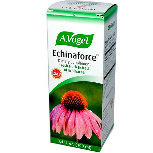 A Vogel, Echinaforce, Fresh Herb Extract of Echinacea, 3.4 fl oz (100 ml) Review