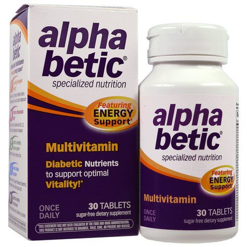 Abkit, Alpha Betic, Multivitamin, 30 Tablets Review