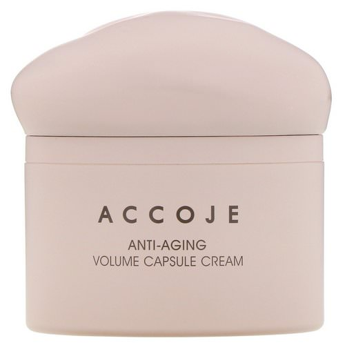 Accoje, Anti-Aging, Volume Capsule Cream, 50 ml Review