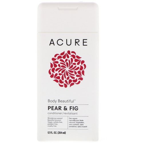 Acure, Body Beautiful Conditioner, Pear & Fig, 12 fl oz (354 ml) Review
