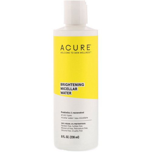 Acure, Brightening Micellar Water, 8 fl oz (236 ml) Review