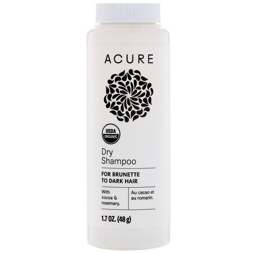 Acure, Dry Shampoo, For Brunette to Dark Hair, 1.7 oz (48 g) Review