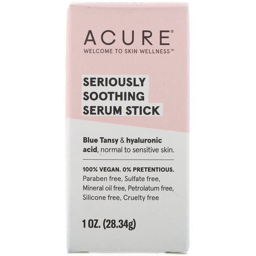 Acure, Seriously Soothing, Serum Stick, 1 oz (28.34 g) Review