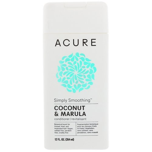 Acure, Simply Smoothing Conditioner, Coconut & Marula, 12 fl oz (354 ml) Review