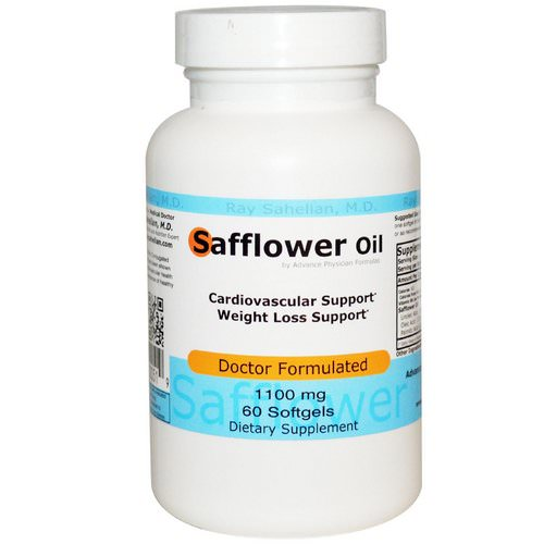 Advance Physician Formulas, Safflower Oil, 1100 mg, 60 Softgels Review