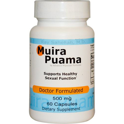Advance Physician Formulas, Muira Puama, 500 mg, 60 Capsules Review