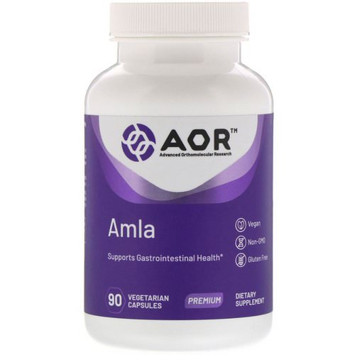 Advanced Orthomolecular Research AOR, AMLA, 90 Vegetarian Capsules Review