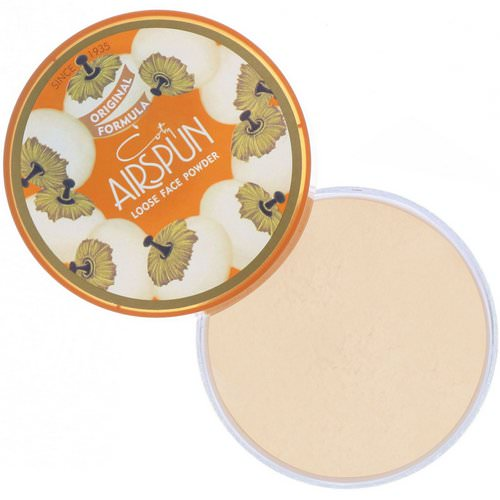 Airspun, Loose Face Powder, Naturally Neutral 070-11, 2.3 oz (65 g) Review