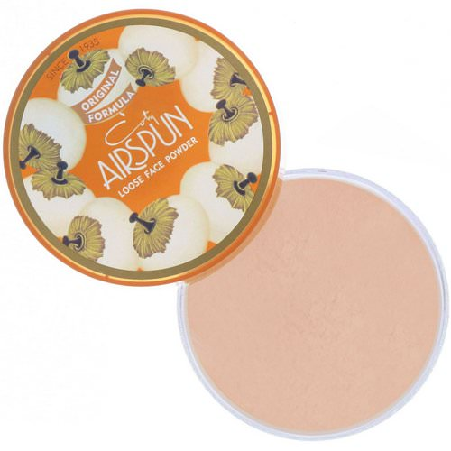 Airspun, Loose Face Powder, Rosey Beige 070-22, 2.3 oz (65 g) Review