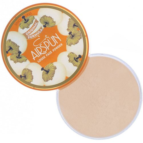 Airspun, Loose Face Powder, Translucent Extra Coverage 070-41, 2.3 oz (65 g) Review