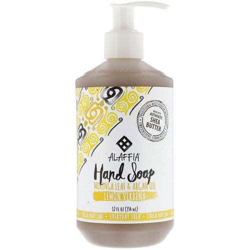 Alaffia, Everyday Shea, Hand Soap, Lemon Verbena, 12 fl oz (354 ml) Review