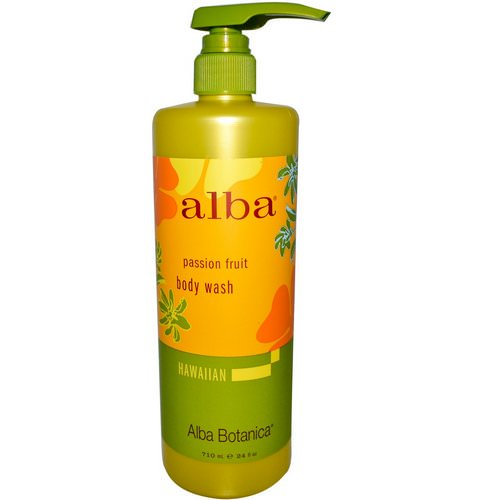 Alba Botanica, Body Wash, Passion Fruit, 24 fl oz (710 ml) Review
