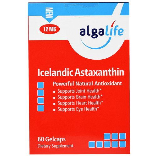 Algalife, Icelandic Astaxanthin, 12 mg, 60 Gelcaps Review