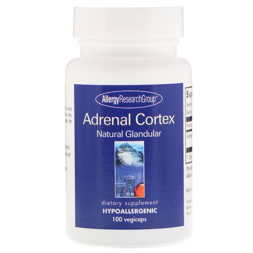 Allergy Research Group, Adrenal Cortex Natural Glandular, 100 Vegicaps Review