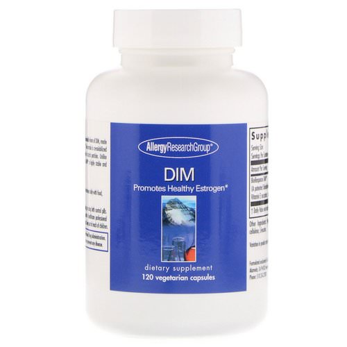 Allergy Research Group, DIM, 120 Vegetarian Capsules Review