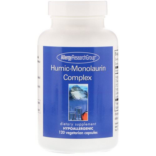 Allergy Research Group, Humic-Monolaurin Complex, 120 Vegetarian Capsules Review