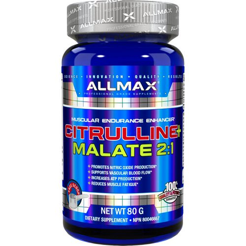 ALLMAX Nutrition, Citrulline Malate, Unflavored, (80 g) Review