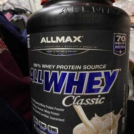 ALLMAX Nutrition, Whey Protein Blends, Condition Specific Formulas