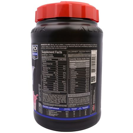 Condition Specific Formulas, Whey Protein Blends, Whey Protein, Protein, Sports Nutrition