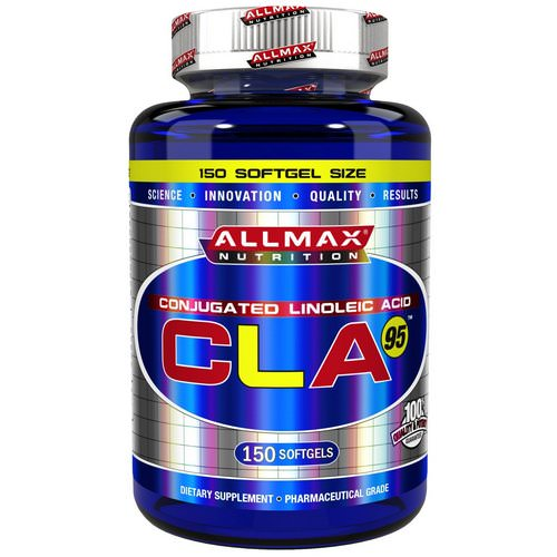 ALLMAX Nutrition, CLA 95, Highest-Purity CLA Yield (95%), 1,000 mg, 150 Softgels Review