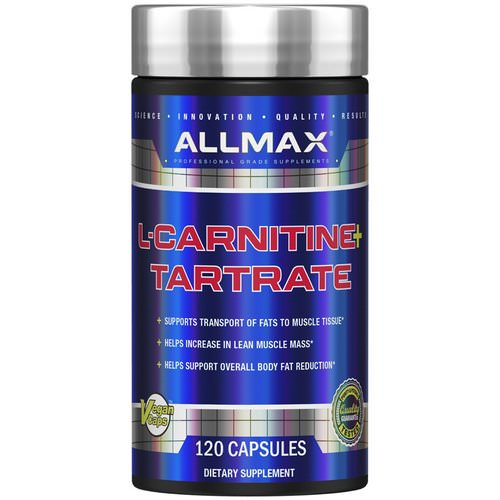 ALLMAX Nutrition, L-Carnitine Tartrate, High-Potency L-Carnitine, 1470 mg, 120 Veggie Caps Review