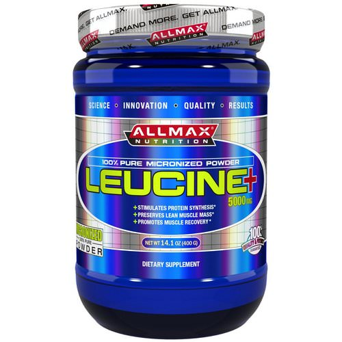 ALLMAX Nutrition, Leucine, 5000 mg, 14.1 oz (400 g) Review
