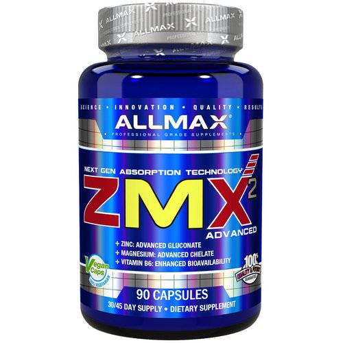 ALLMAX Nutrition, ZMX2 High-Absorbtion Magnesium Chelate, 90 Capsules Review