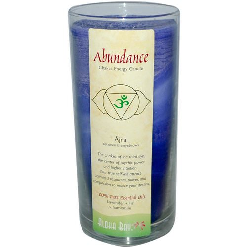 Aloha Bay, Chakra Energy Candle, Abundance, 11 oz Review