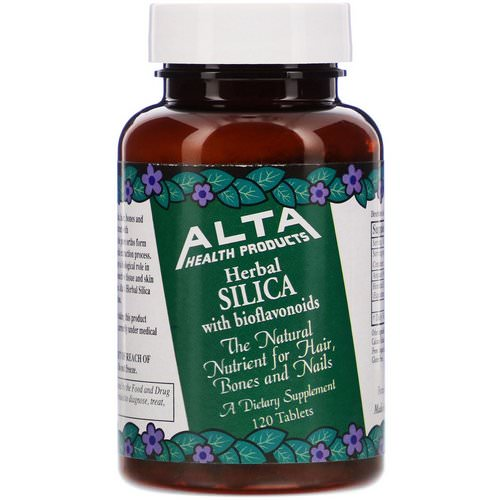 Alta Health, Herbal Silica with Bioflavonoids, 120 Tablets Review