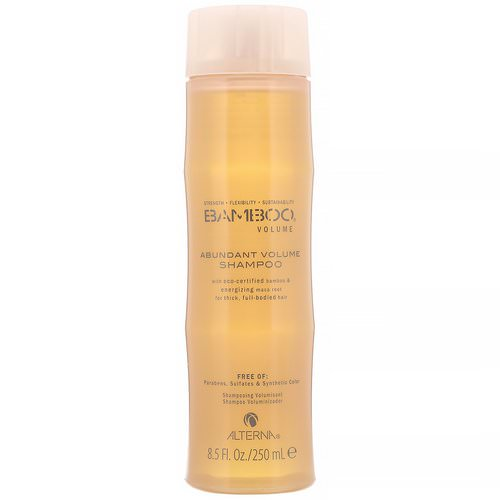 Alterna, Bamboo Volume, Abundant Volume Shampoo, 8.5 fl oz (250 ml) Review