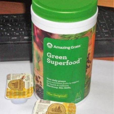 Amazing Grass Supplements Greens Superfoods