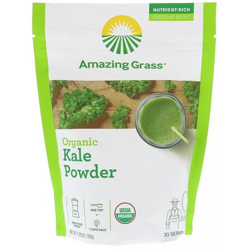 Amazing Grass, Organic Kale Powder, 5.29 oz (150 g) Review