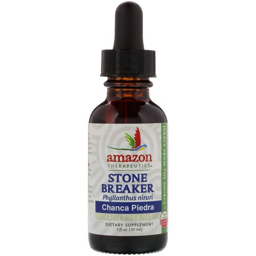 Amazon Therapeutics, Stone Breaker, Chanca Piedra, 1 oz (30 ml) Review