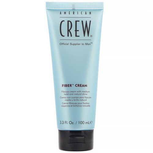 American Crew, Fiber Cream, 3.3 fl oz (100 ml) Review